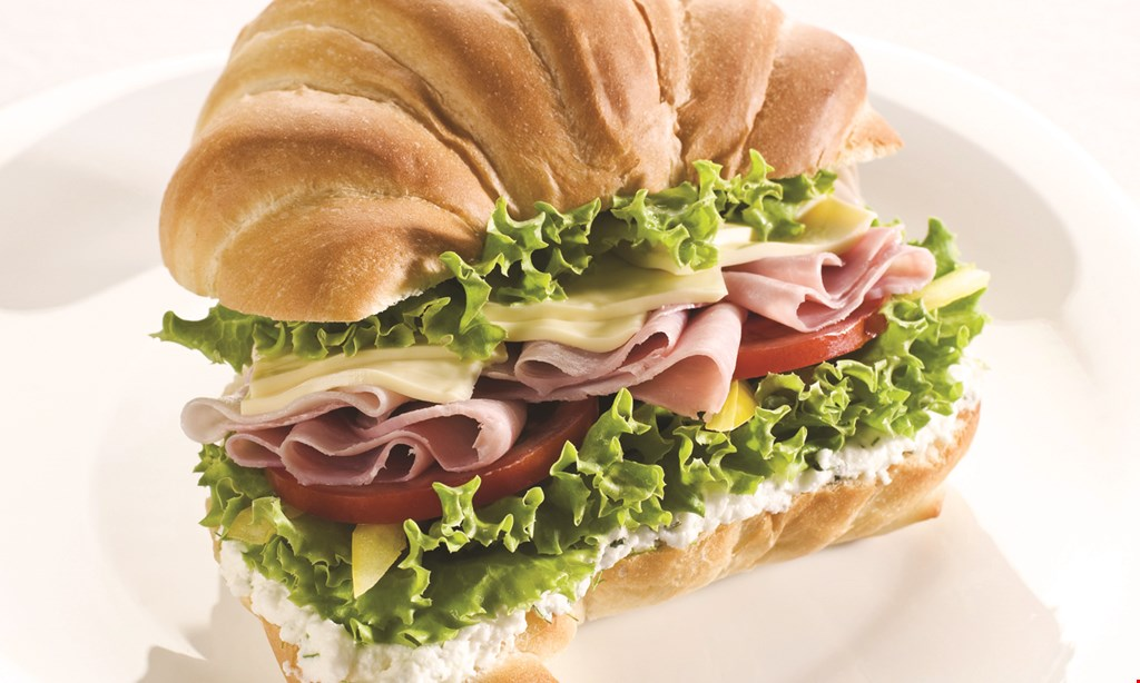 Product image for MANHATTAN BAGEL $3.49 +tax bagel with cream cheese & 16 oz. coffee.