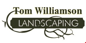 Product image for Tom Williamson Landscaping $250 off landscaping installation