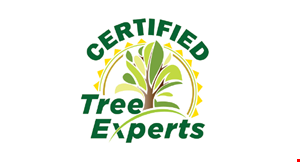 Product image for Certified Tree Experts 15% off any job of $500 or more