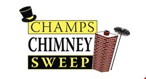 Champs Chimney Sweep logo
