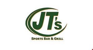 Product image for JT's Sports Bar & Grill $5 off any purchase of $25 or more