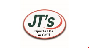 Product image for JT's Sports Bar & Grill $5 off any purchase of $25 or more.
