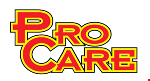 Product image for PRO CARE AUTO AND TIRE $69.99 Flush & Fill