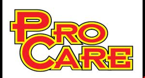 PRO CARE AUTO AND TIRE logo