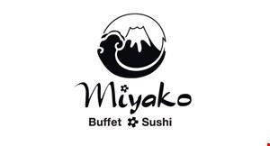 Miyako Buffet and Sushi logo