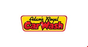 Adam's Royal Car Wash logo
