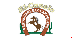 Product image for EL-CANELO $4 OFF any 2 combo dinner plates #1-30 FROM MENU. 1 coupon per table or group. Must purchase 2 beverages. Dine in only.