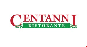 Product image for Centanni Ristorante $5 off any purchase