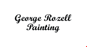 George Rozell Painting logo
