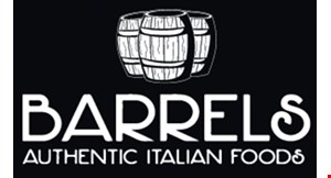 Product image for Barrels of Margate $10 For $20 Worth Of Casual Italian Dining