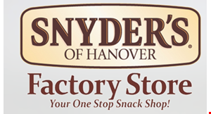 SNYDERS OF HANOVER FACTORY STORE logo