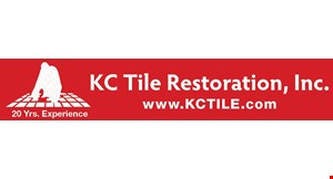 Product image for KC Tile Restoration, Inc. SPECIAL OFFER 10% OFF ALL JOBS THAT ARE ESTIMATED AND SCHEDULED IN SEPTEMBER OR OCTOBER. Any Tile & Grout Service greater than $395. Min will vary upon location, but starts at $395. Any Pressure Cleaning Service greater than $495. **Ask about our senior citizen & first responder discount**.