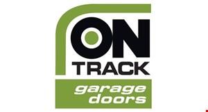 ON TRACK GARAGE DOORS logo