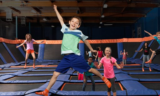 Product image for Sky Zone Trampoline Park $199 birthday parties of UP TO 10 jumpers