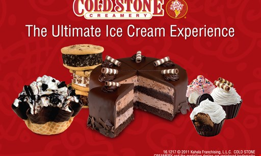 Product image for Cold Stone Creamery $3 OFF Any Small Or Large Round Cake.