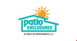 Product image for Patio Enclosures up to $350 off Each Window Plus up to $1,300 off patio Doors * Plus No Interest NO Paymentsfor 24 months.