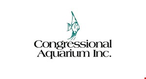 Product image for Congressional Aquarium Inc. $10 OFF any purchase of $50 or more.