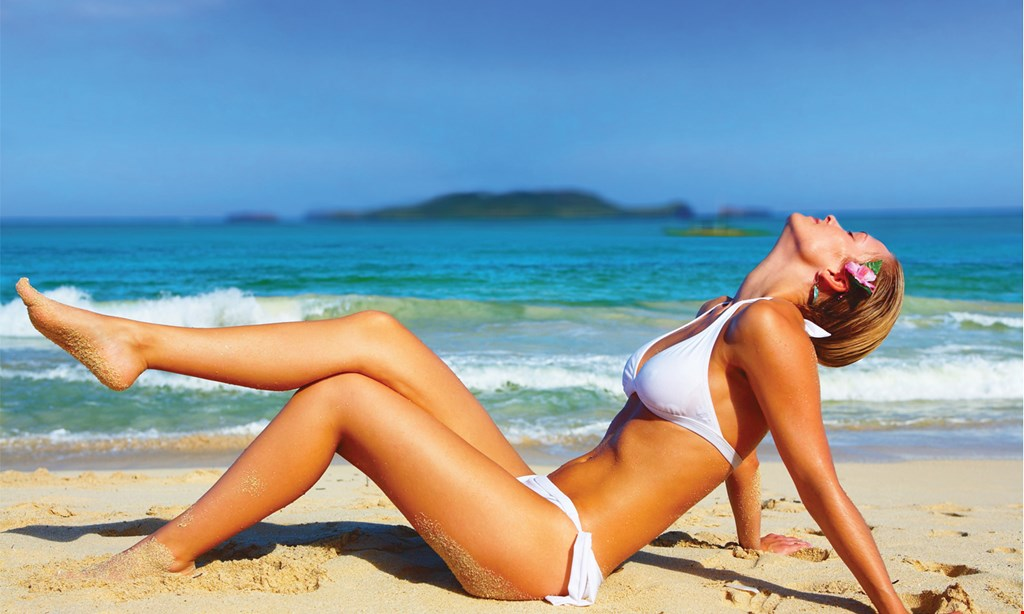 Product image for Tropical Tan FREE 1 Red Light Therapy Session.