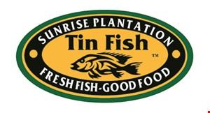 Tin Fish Sunrise Plantation logo