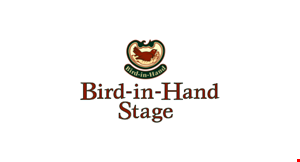 Product image for Bird-in-Hand Stage $5 off tickets Valid for all 2020 shows.