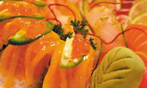 Product image for Aodake Sushi & Steak House $15 Off any purchase of $100 or more. $10 Off any purchase of $50 or more. .