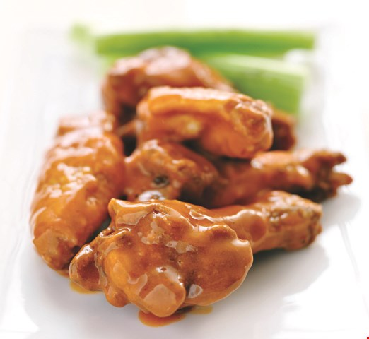 Product image for Buffalo Wild  Wings Buy one, get one free. 10 boneless wings.
