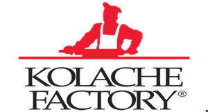 Product image for Kolache Factory BUY 3 KOLACHES & GET 3 FREE Of equal or lesser value.