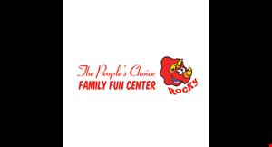 The People's Choice Family Fun Center logo