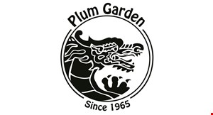 Product image for Plum Garden Restaurant 20% Off Any Size Order.