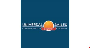 Product image for Universal Smiles Dentistry $81 New Patient Special