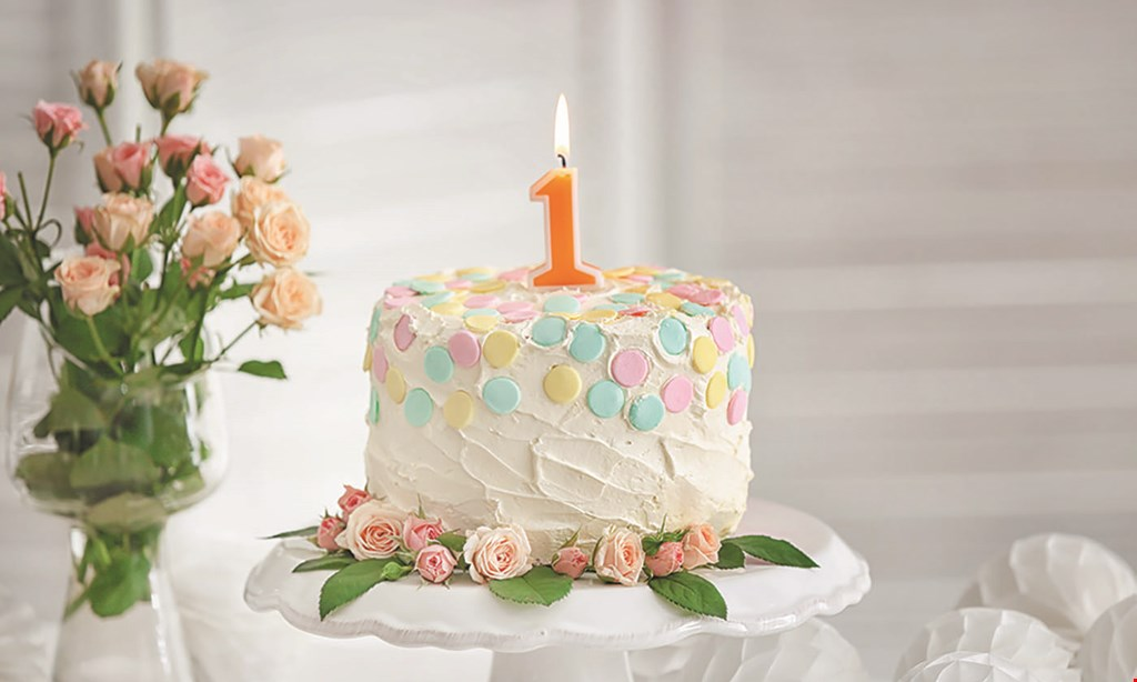 """Product image for GIANINO'S PASTRIES $5 OFF any 10"""" cake or larger"""