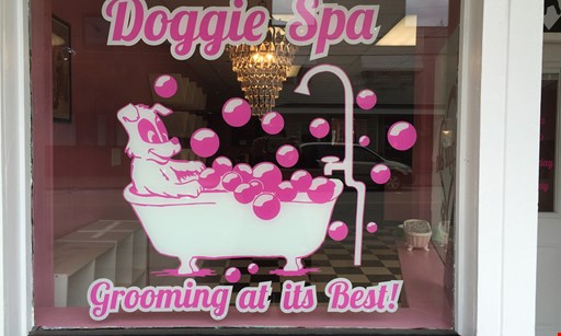 Product image for Doggie Spa $5 OFF grooming