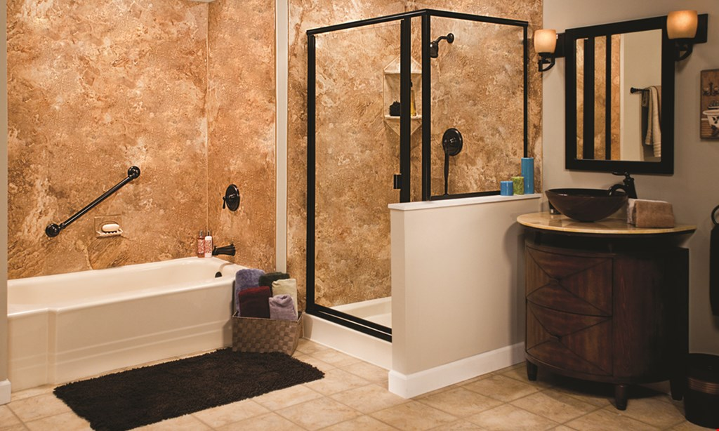 Product image for Bath Planet Spring Savings Sale Buy 1 Tub/Shower, Get 1 Tub/Shower 50% Off or $1000 Off 1 Tub/Shower.