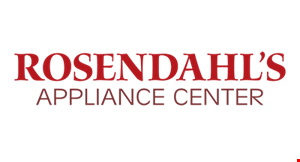 Rosendahl's Appliance Center logo