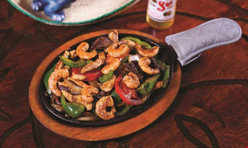 Product image for EL PASO MEXICAN RESTAURANT LLC DBA EL PASO MEXICAN GRILL $4 Off any dinner with purchase of 2 entrees · dine in only.