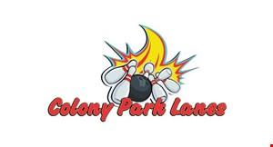 Colony Park Lanes logo