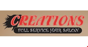 Creations Full Service Hair Salon logo