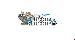 THE GUTTER SHUTTER CO. logo
