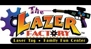 The Lazer Factory logo