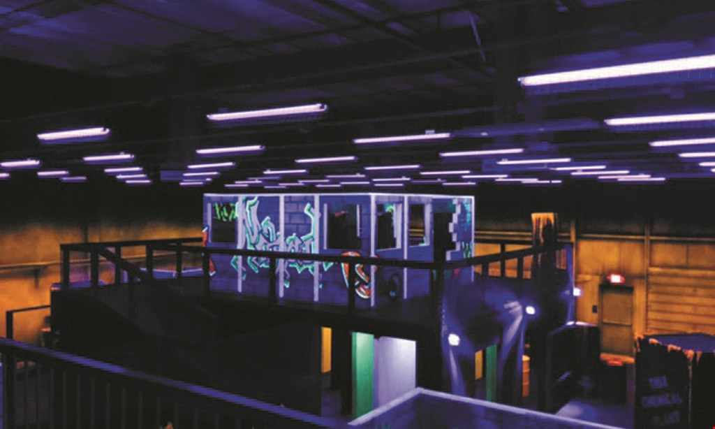 Product image for The Lazer Factory $4 Single Game (Regularly $9).