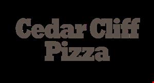 Cedar Cliff Pizza logo