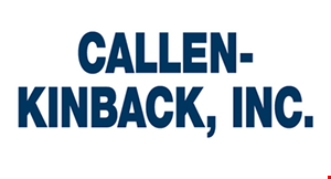 Product image for Callen-Kinback, Inc. Save up to $50