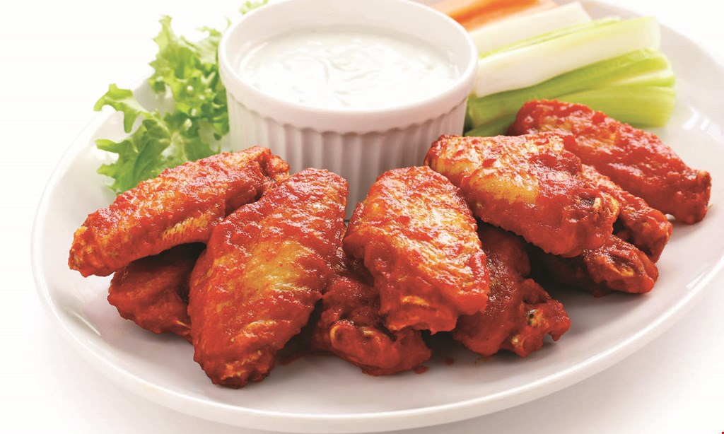 Product image for Wild Wings only $16.99 1 large cheese pizza & 10 wings