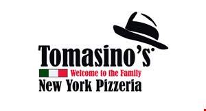 Product image for Tomasino's New York Pizzeria $5 off your entire order of $30 or more.
