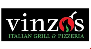 """Product image for Vinzo's  Italian Grill & Pizzeria Free 12"""" cheese pizza"""