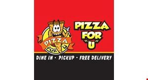 Pizza For U logo