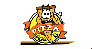 Product image for Pizza For U $10 For $20 Worth Of Casual Dining