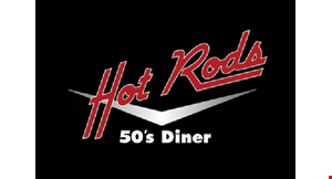 Hot Rods 50's Diner logo