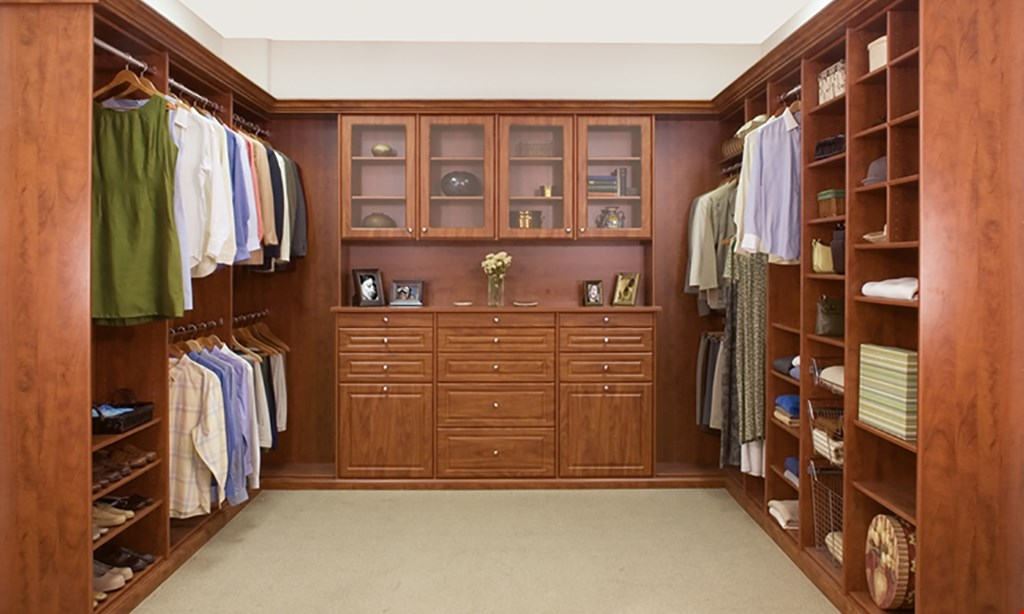 Product image for Closet World 18 month free financing 0% APR.