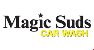 Product image for MAGIC SUDS CAR WASH $5 Off The Ultimate Wash Special